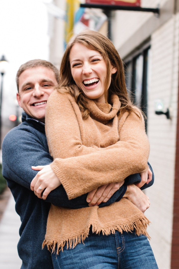 Russell + Morgan | Downtown Greenville Engagement